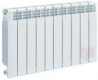 Алюминиевый секционный радиатор Helyos 350, 10 секций