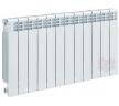 Алюминиевый секционный радиатор Helyos 500, 12 секций